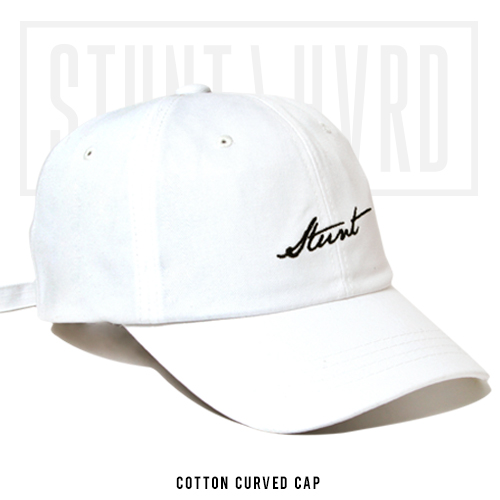 [스턴트] Dash Logo Cap (White)