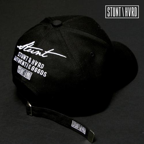 [스턴트] Logo Backup Curved Cap (Black)