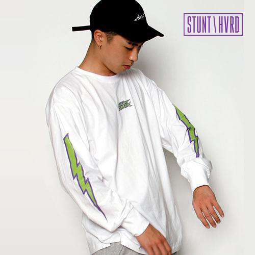 [스턴트] Spark Overfit Band Sleeves (White)