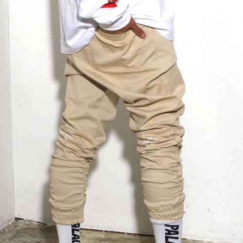 [스턴트] Shirring Jogger Pants (Beige)