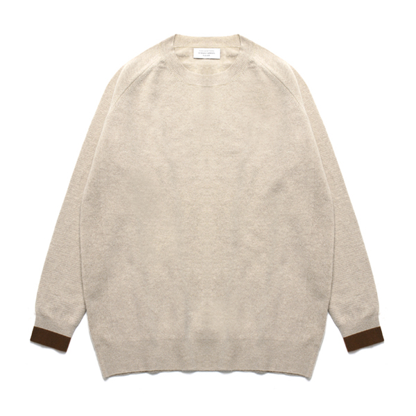 (Unisex) Line Cashmere Round knit_Percell