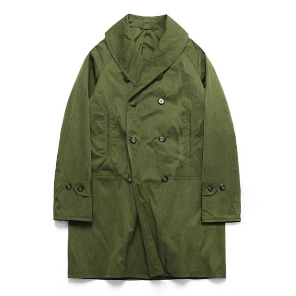 (Unisex) Shawl Collar Coat_Khaki