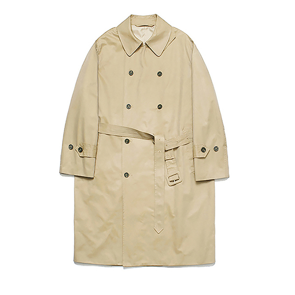 [리뉴얼ver.] (Unisex) Classic Over Trench Coat_Beige