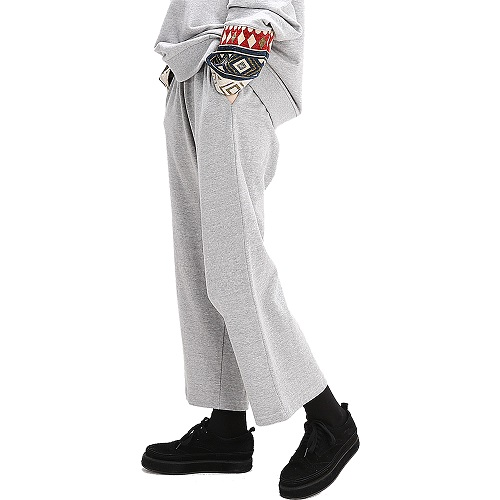 Powit Wide Croppants(Gray)