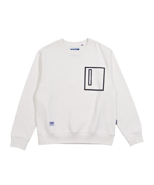 아웃도어프로덕트 웰딩 포켓 맨투맨 티셔츠