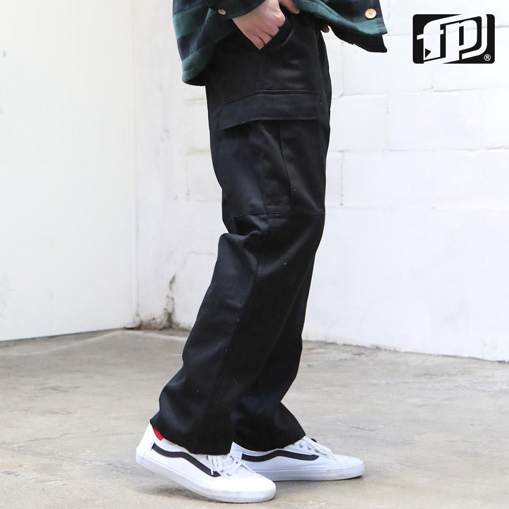 [페플] 하이카고 팬츠 검정 JJHLP1099