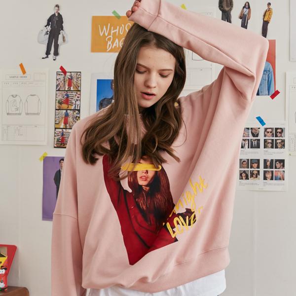 [unisex] women graffity mtm (pink)