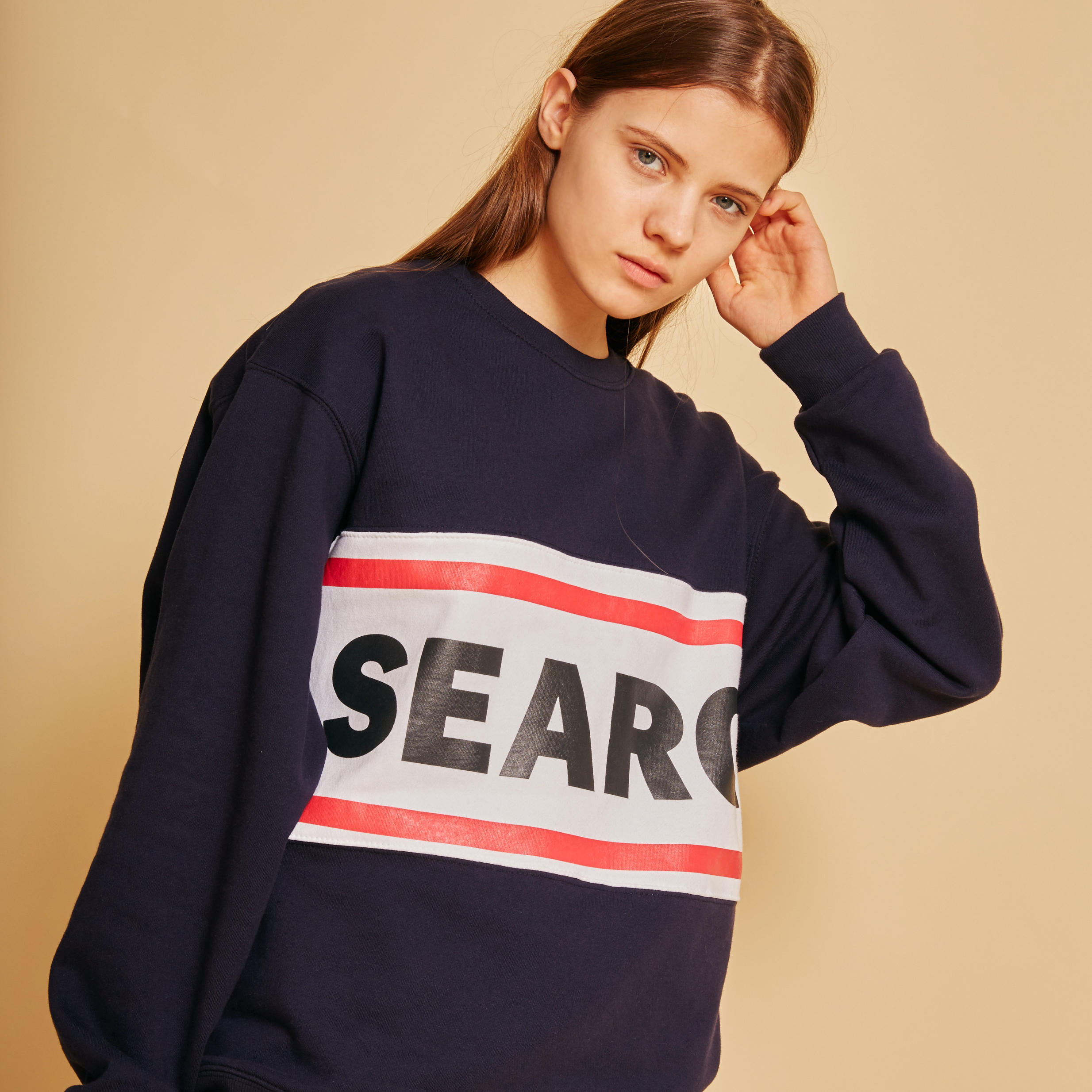 SEARCH UNISEX R LINE MTM _ NAVY