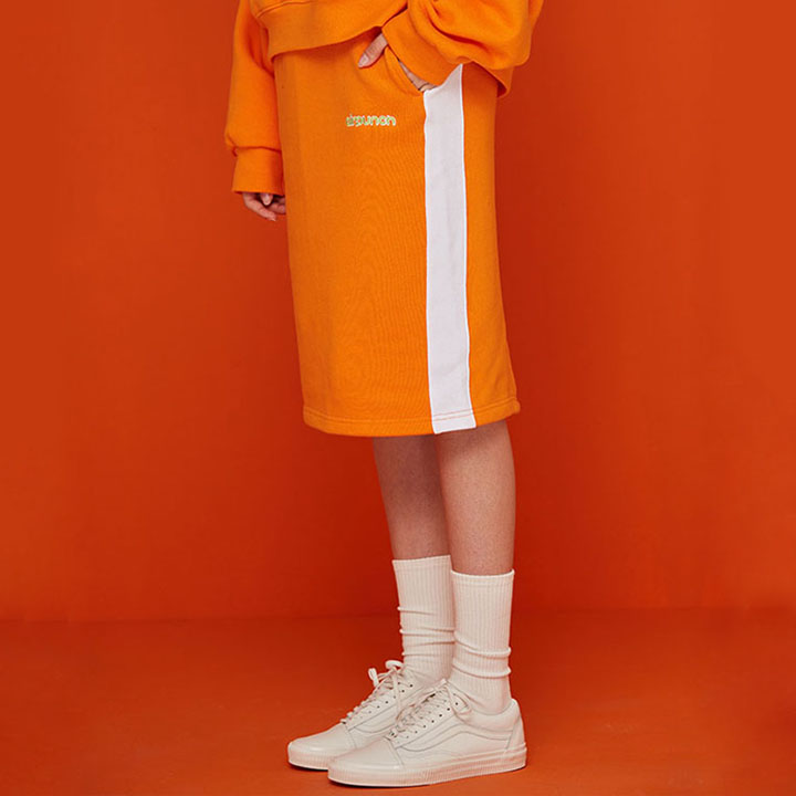 JUICY SKIRT_ORANGE
