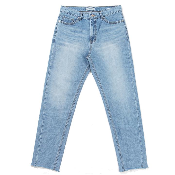 [MAN]STDC brush washing denim pants(light blue)