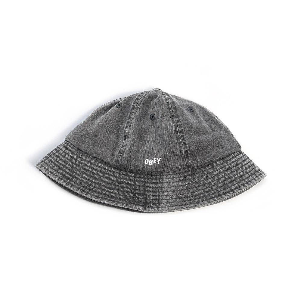 [OBEY] 오베이버킷햇 DECADES BUCKET HAT 100520013 BLACK