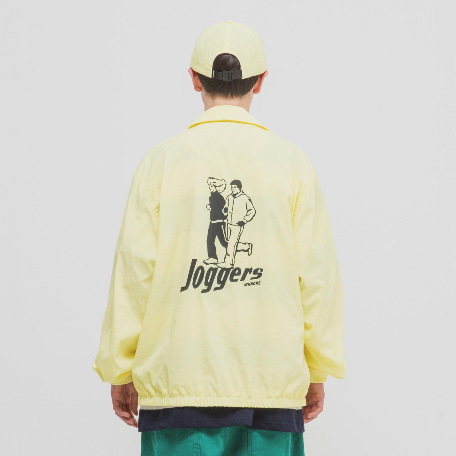 [위캔더스] JOGGERS BLOUSON L.YELLOW