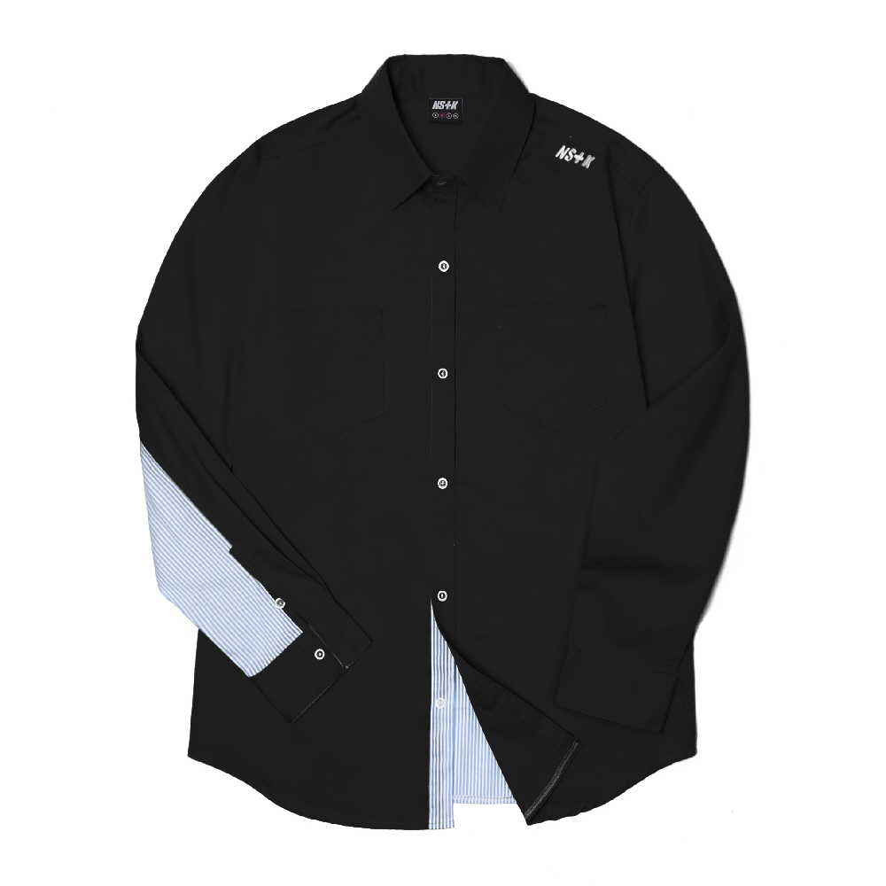 [NSTK] NELEMENT SHIRTS (BLK)