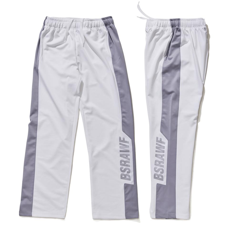 [비에스래빗] BSRAWF TRACK PANTS WHITE