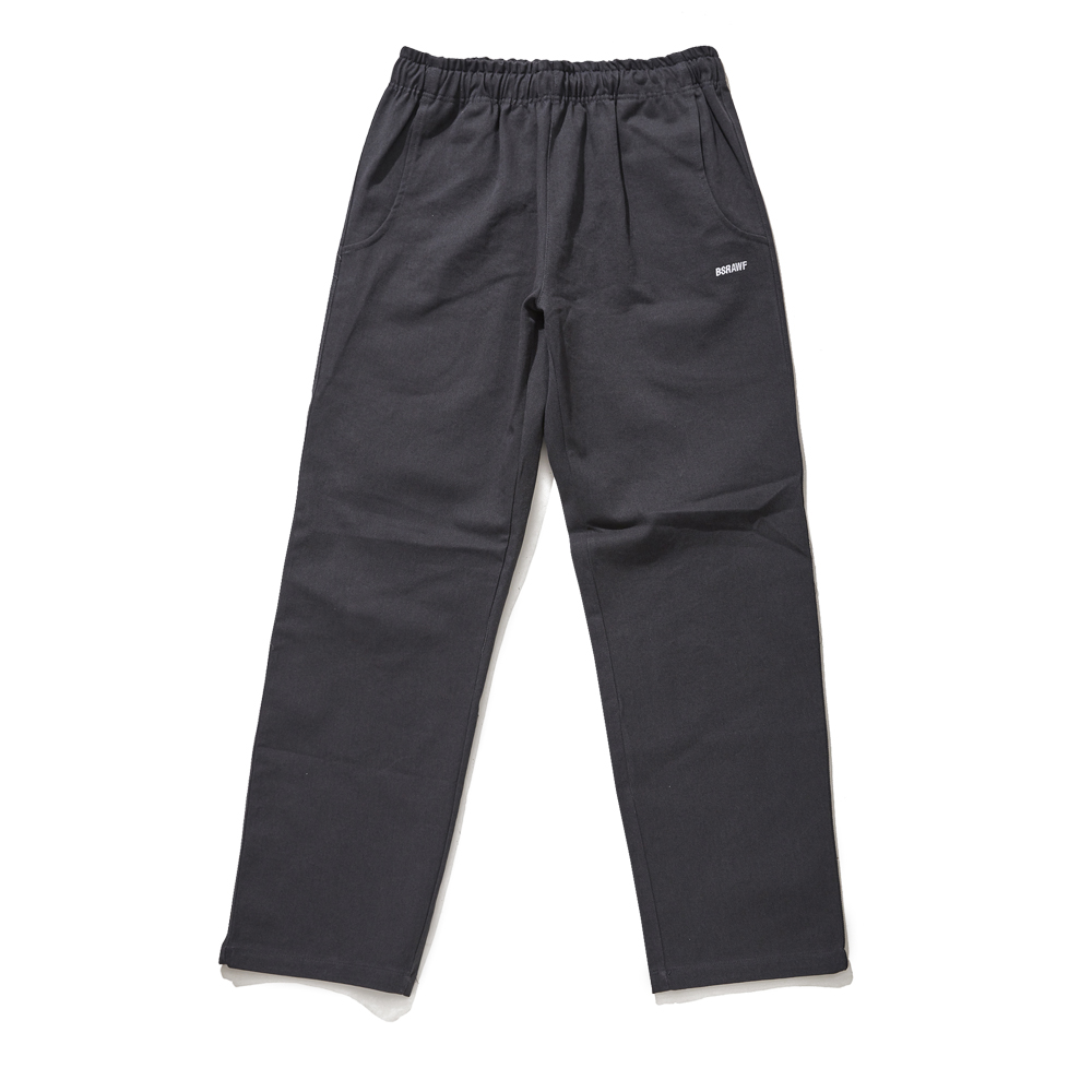 [비에스래빗] BSR COTTON BASIC TRACK PANTS CHARCOAL