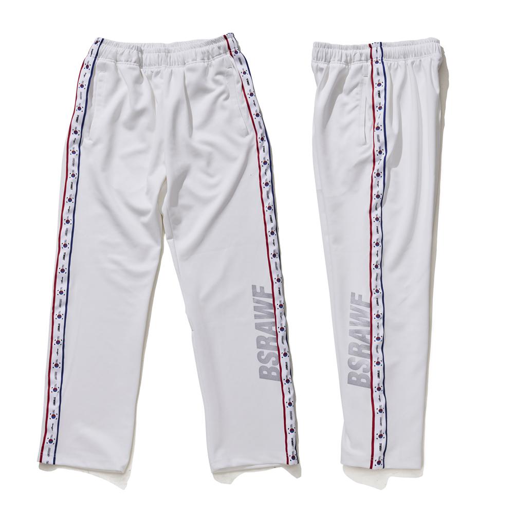 [비에스래빗] GR KOREA TRACK PANTS WHITE