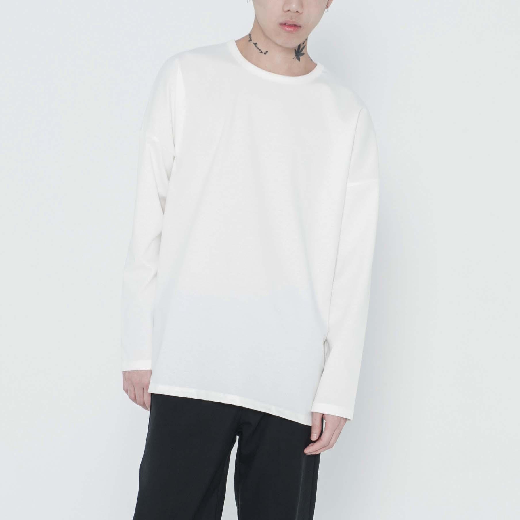 [B1A4 바로 착용]화이트 미니멀 티셔츠