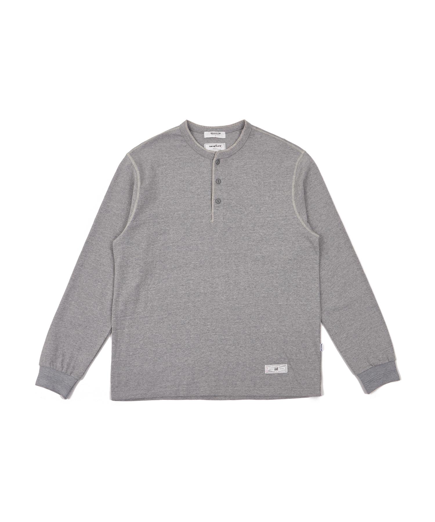 모노플로우 헨리넥 티셔츠