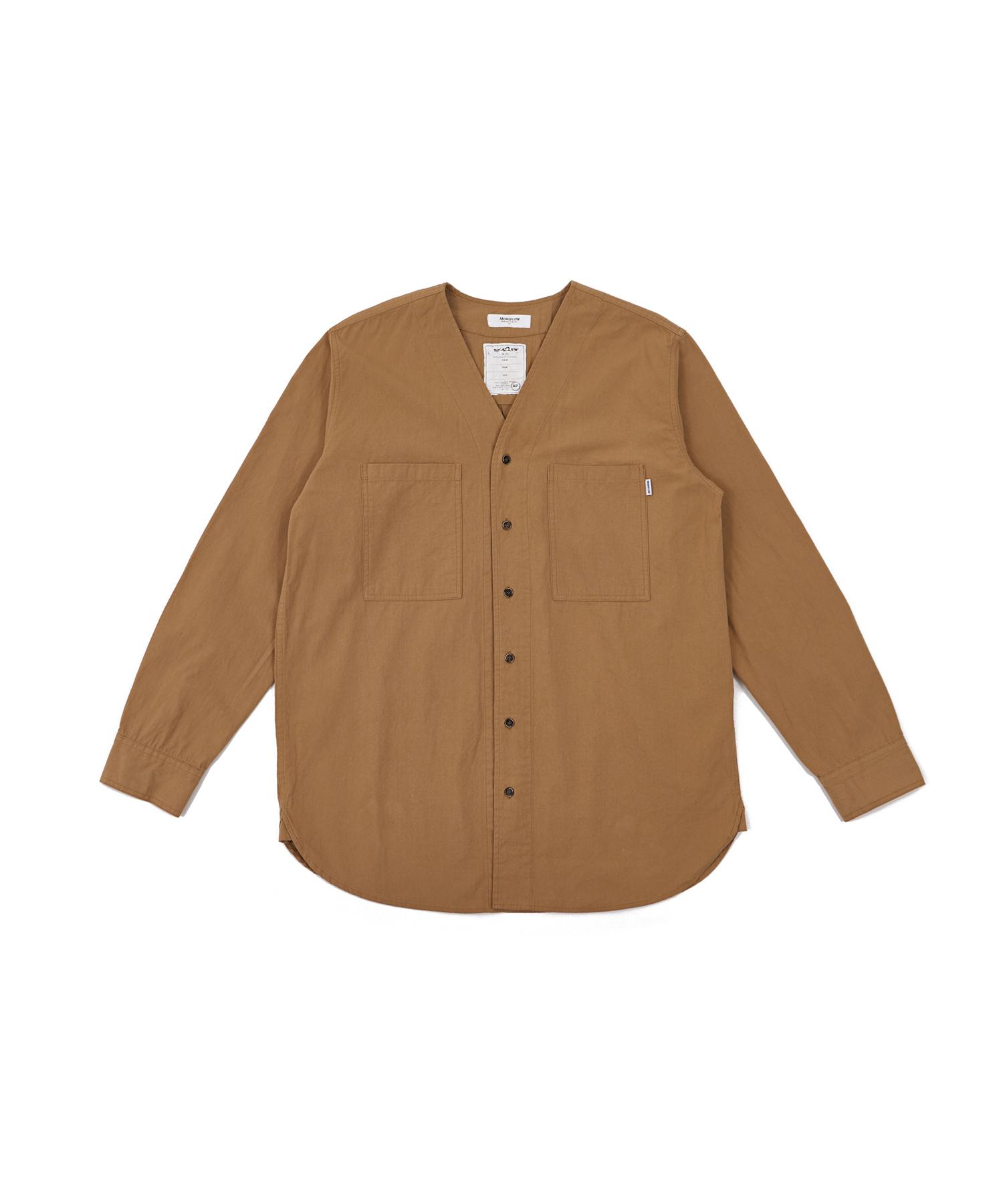 모노플로우 브이넥 셔츠