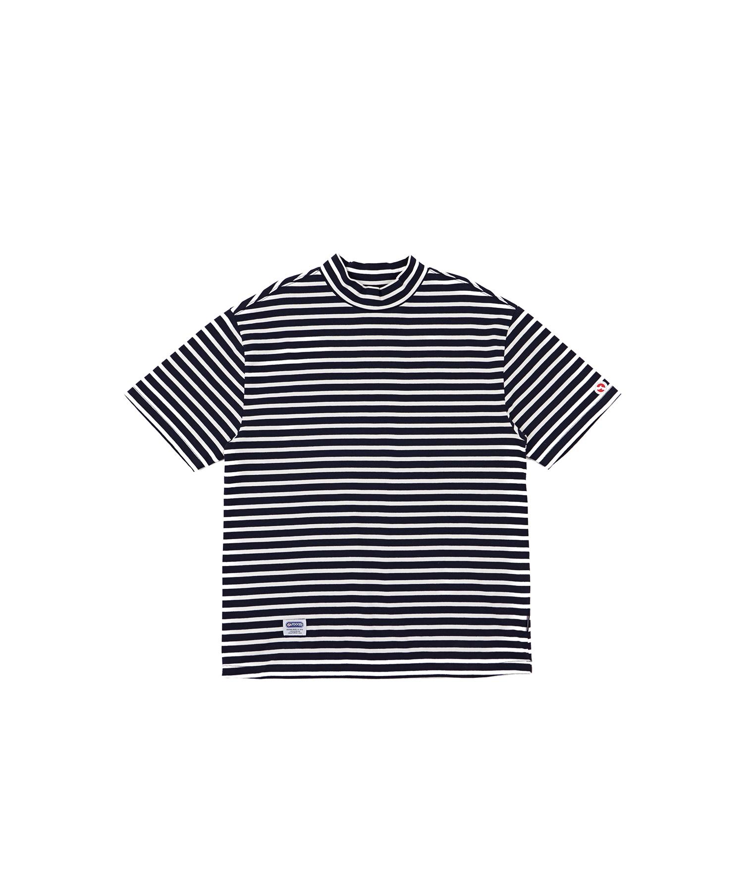 아웃도어프로덕트 하이넥 스트라이프 티셔츠