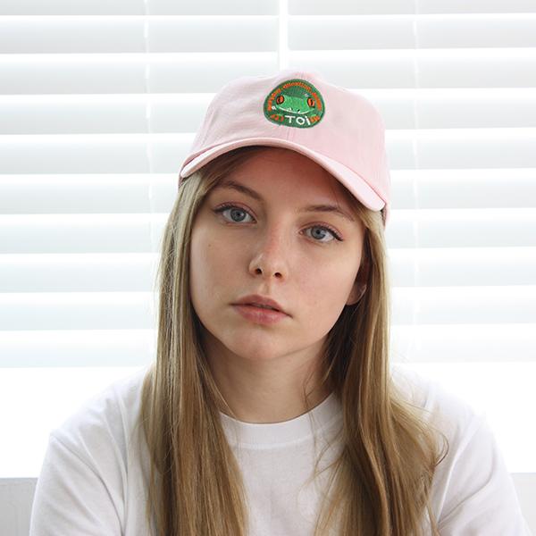 [TOi] FROG CAP 핑크