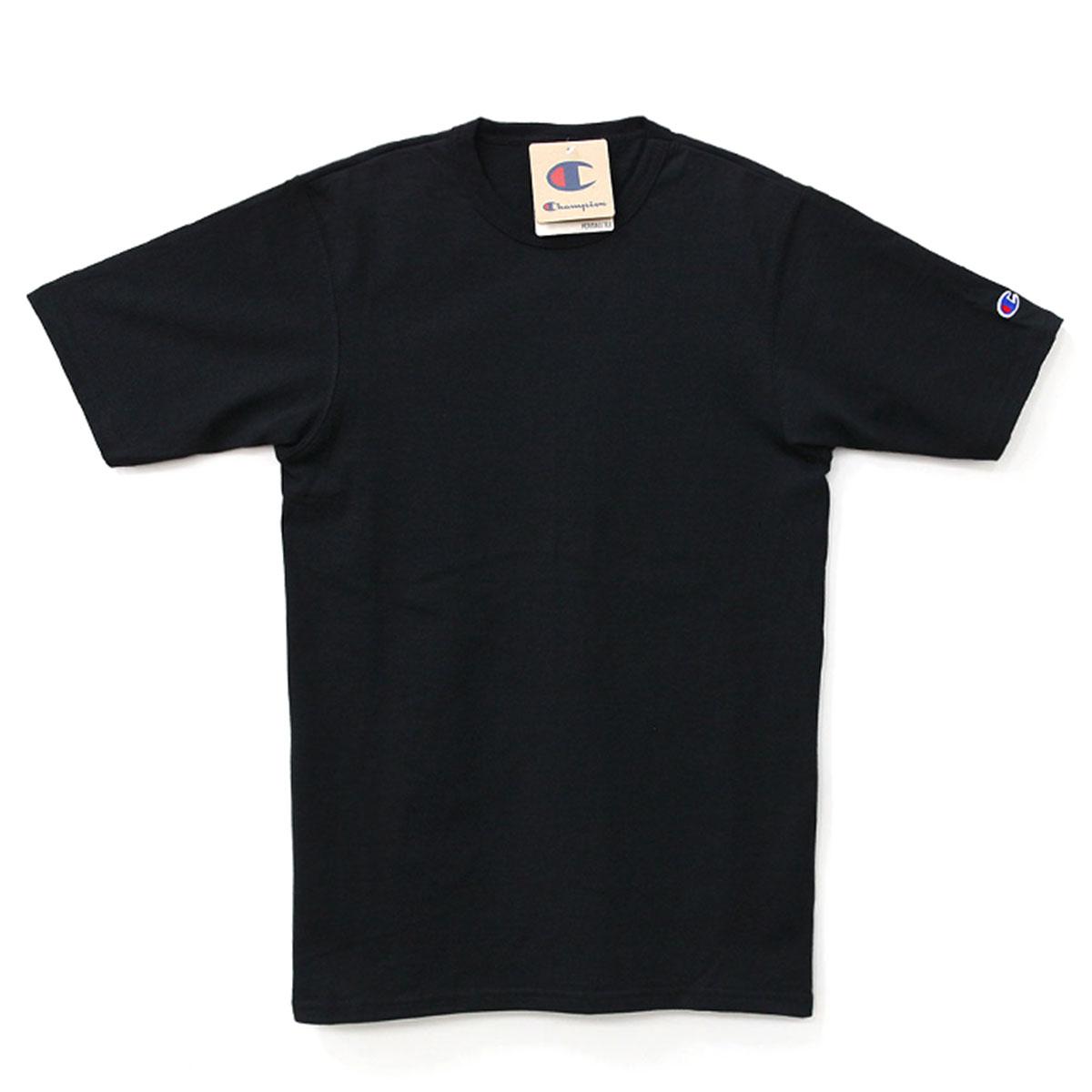 [챔피온] HERITAGE TEE GT19 549314 BLACK