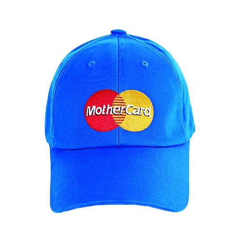 MOTHER CARD PARODY BALLCAP_BUE