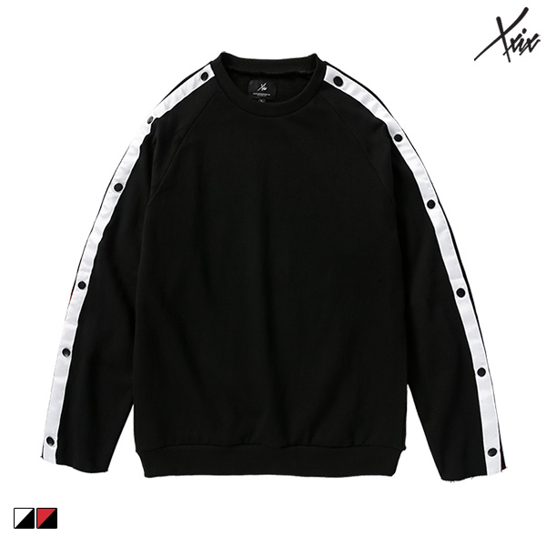 [초특가]XXIX - tape snap sweatshirts - 테이핑스냅맨투맨