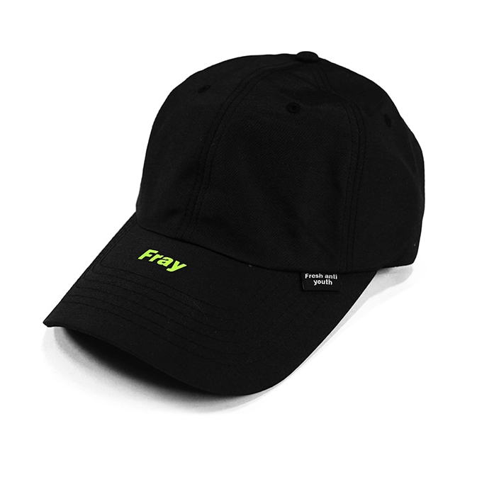 [칼배송][프레시안티유스] Tokyo debut ball cap BLACK