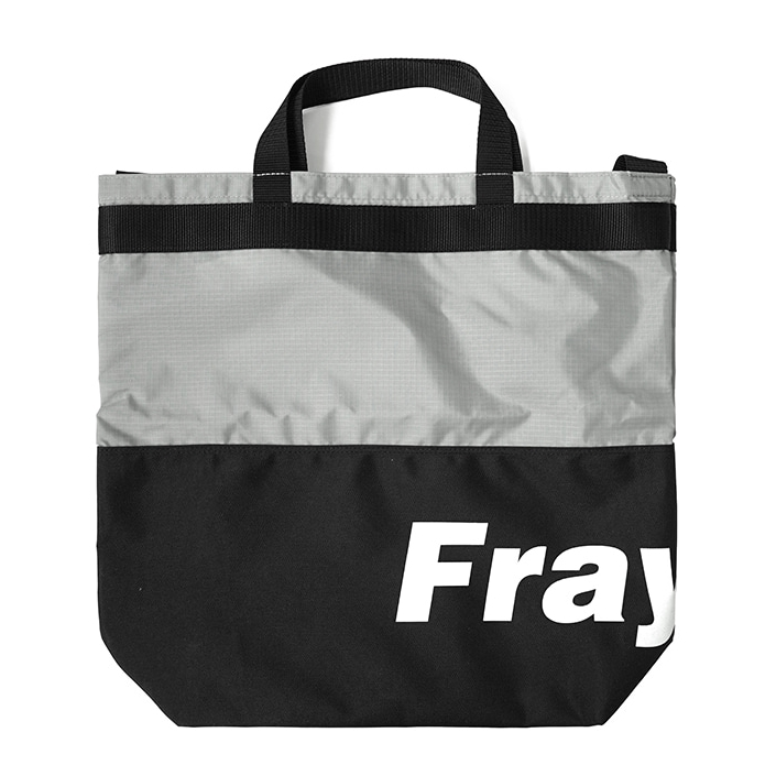 [프레시안티유스] Fray logo 2way bag BLACK