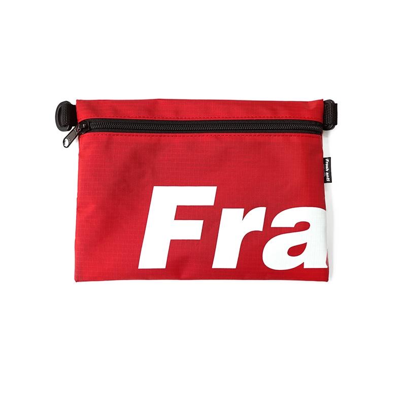 [프레시안티유스] Fray pocket side bag RED