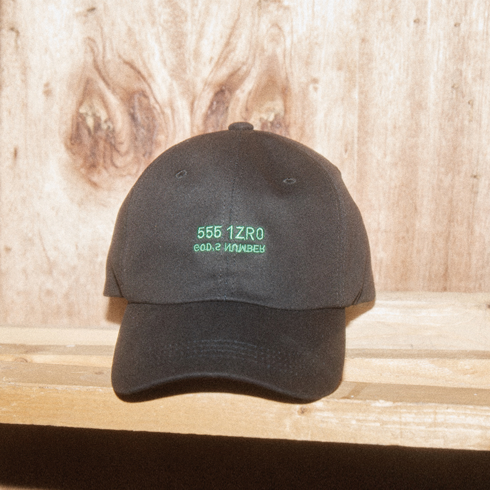 IZRO GODS NUMBER CAP-BLACK