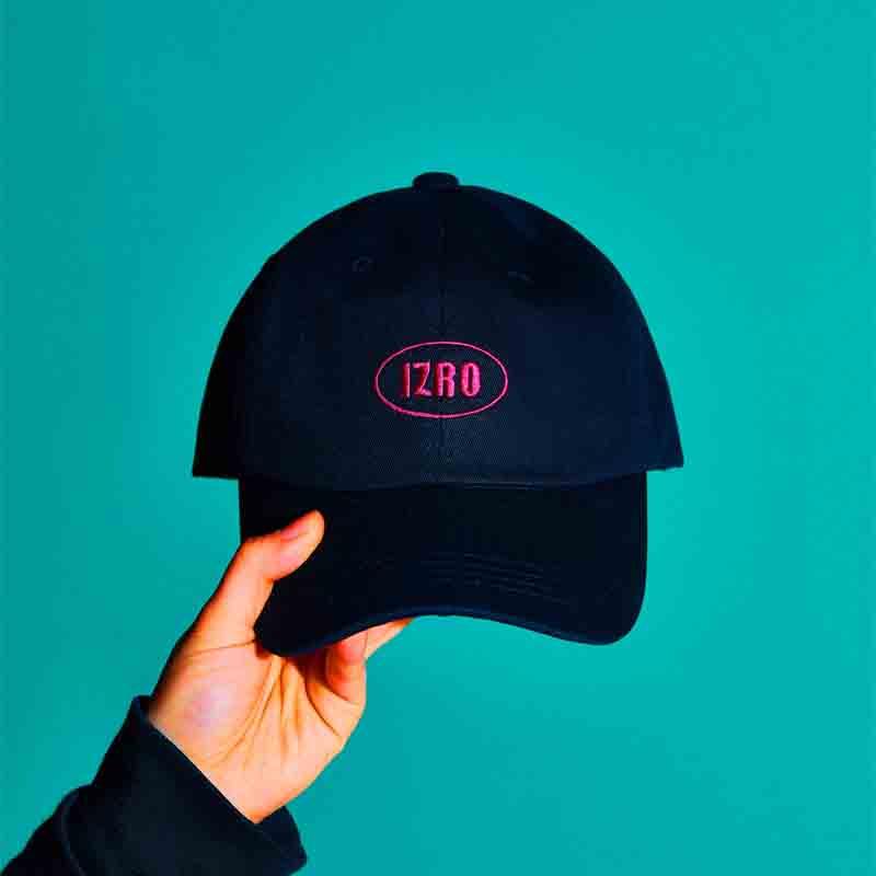 IZRO ACC SIMPLE CAP-BLACK