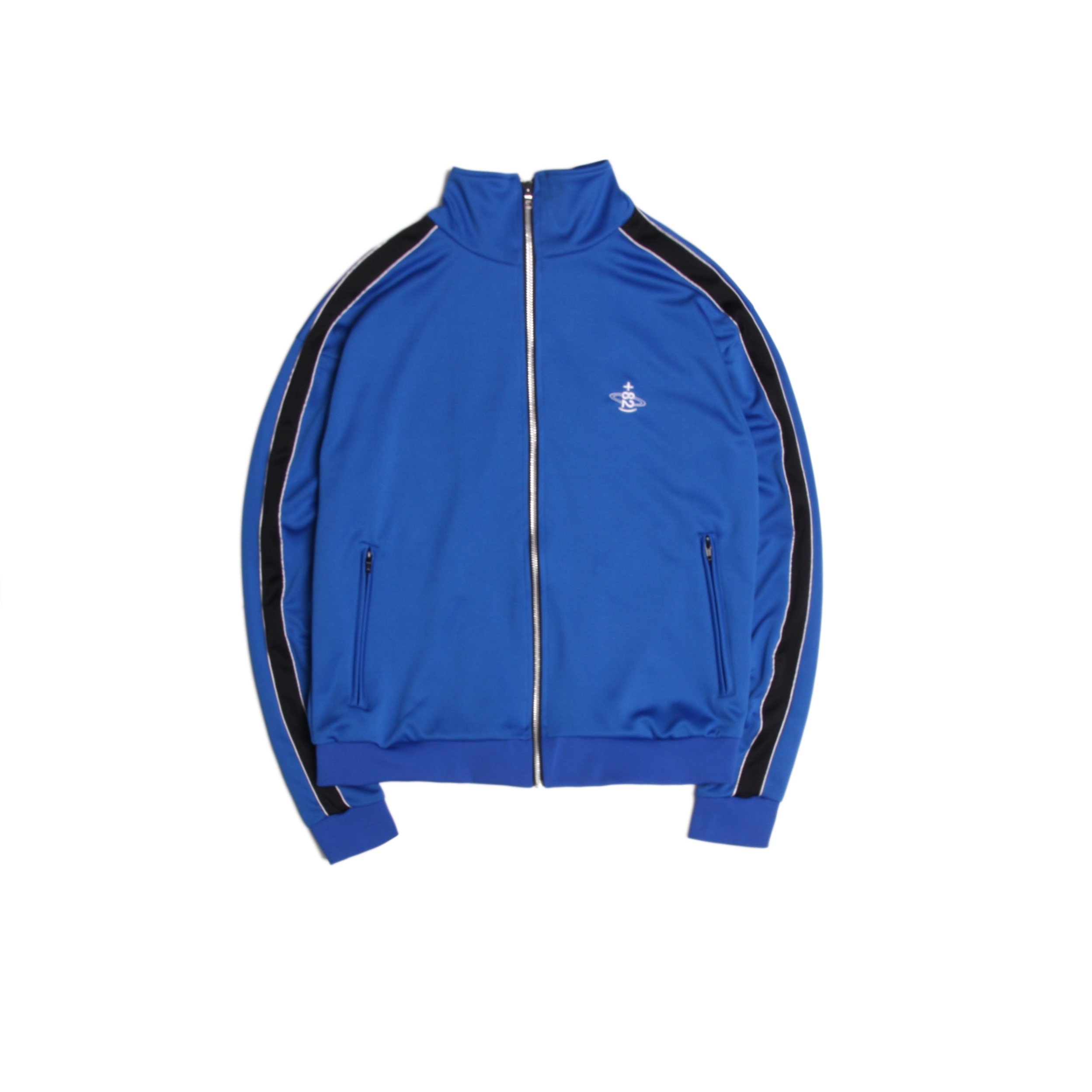 [DUCKDIVE]+82 TRAINING TRACK TOP _BLUE