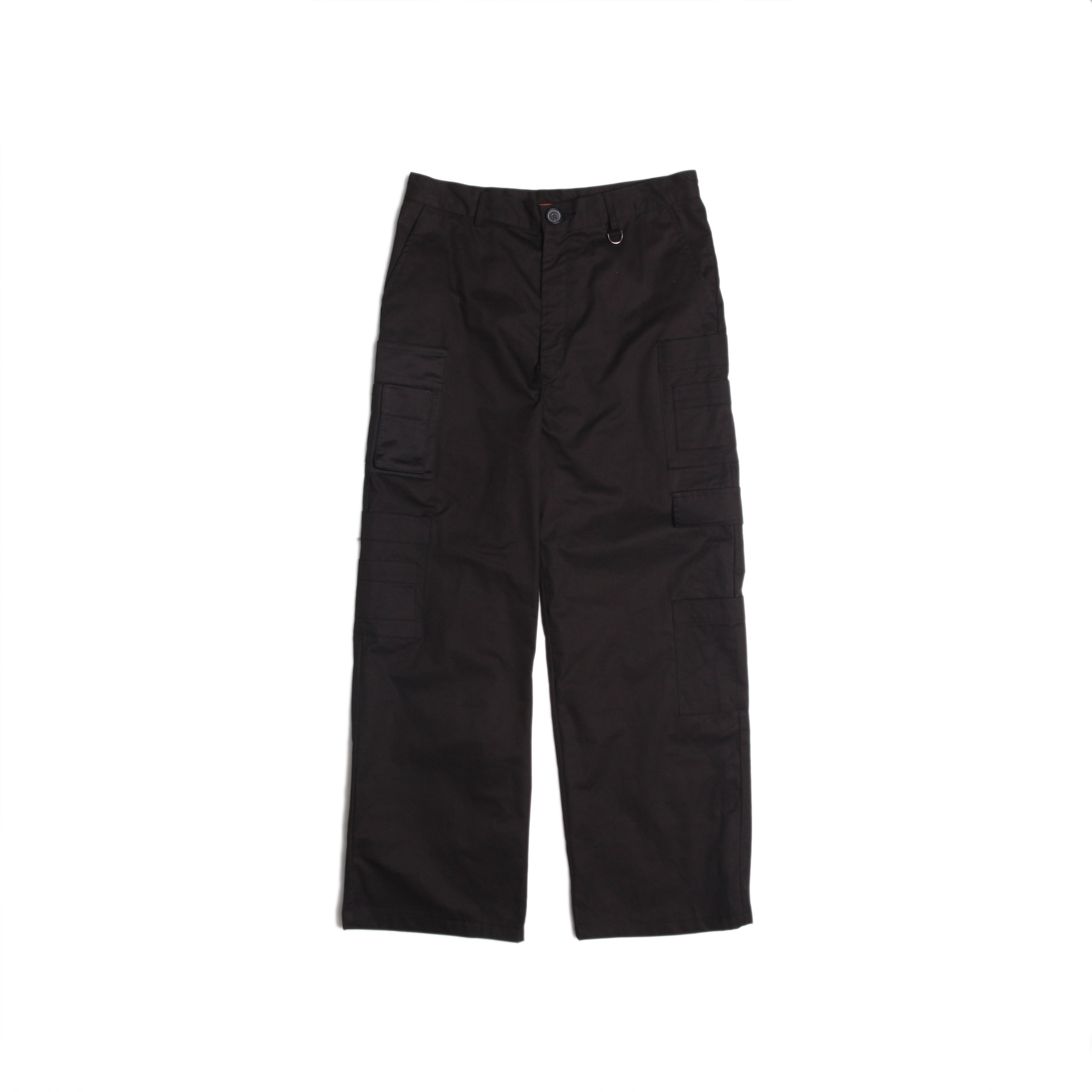 [DUCKDIVE]UTILITY POCKET CARGO PANTS _ BLACK