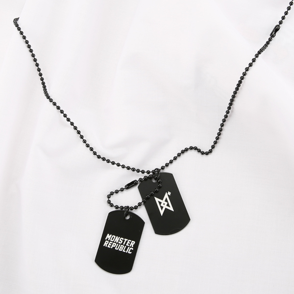 몬스터 리퍼블릭 MONSTER CHAIN NECKLACE BLACK