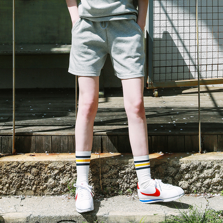 [단독할인](UNISEX) DAILY SHORTS PT_GRAY
