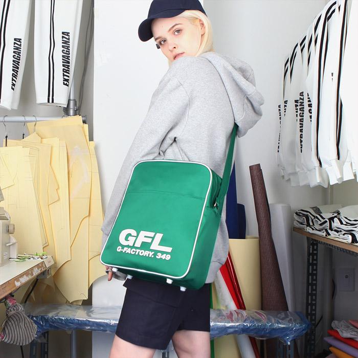 [지플랫] 에어라인 GFL 83 크로스백 L (GREEN)