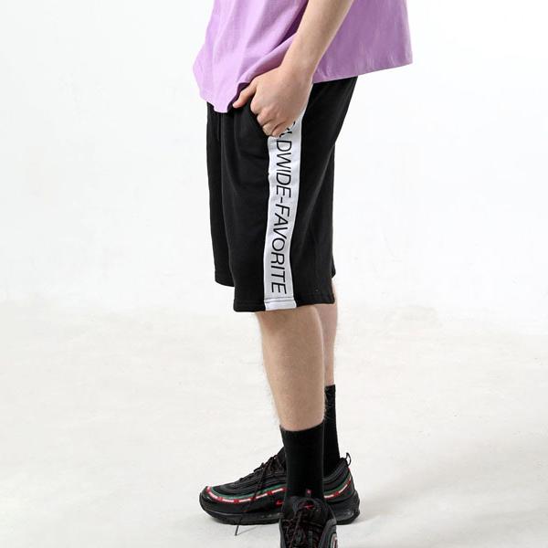 [패티즘 사이드라인 팬츠] SIDE LINE HALF PANTS