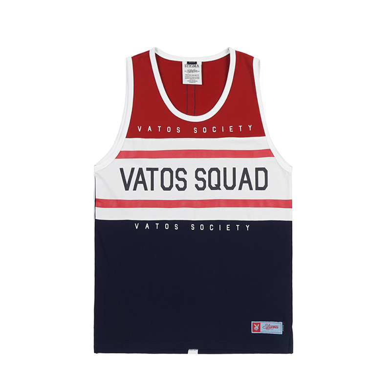 STIGMA RUGBY SLEEVELESS RED