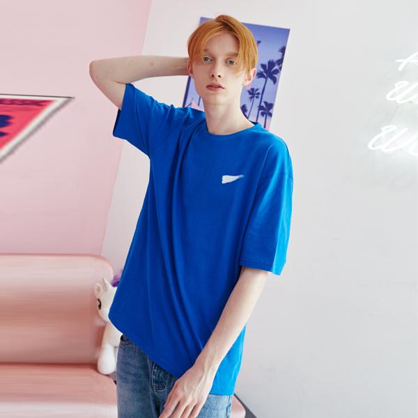 [unisex] signautre T (blue)