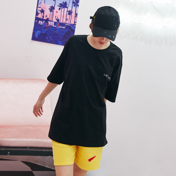 [unisex] signature short pants (yellow)