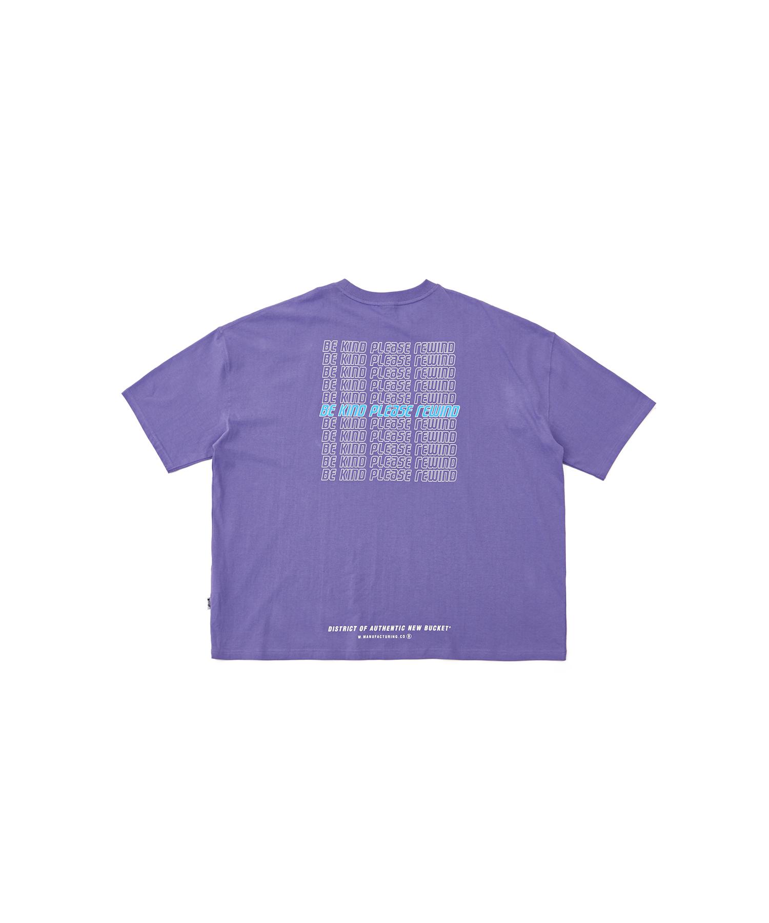 버켓 레이어 그래픽 반팔 티셔츠