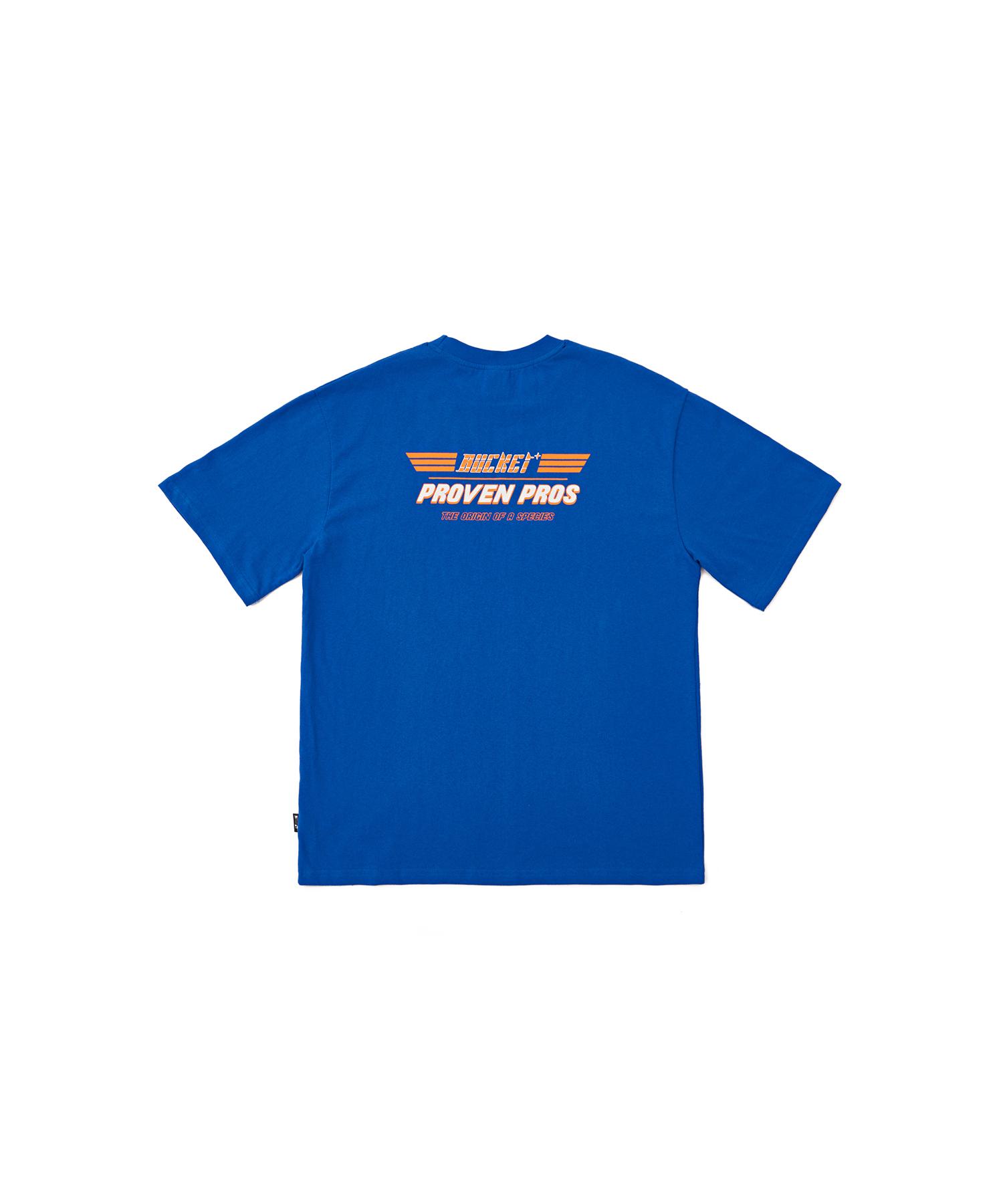버켓 베이직 서브로고 반팔 티셔츠