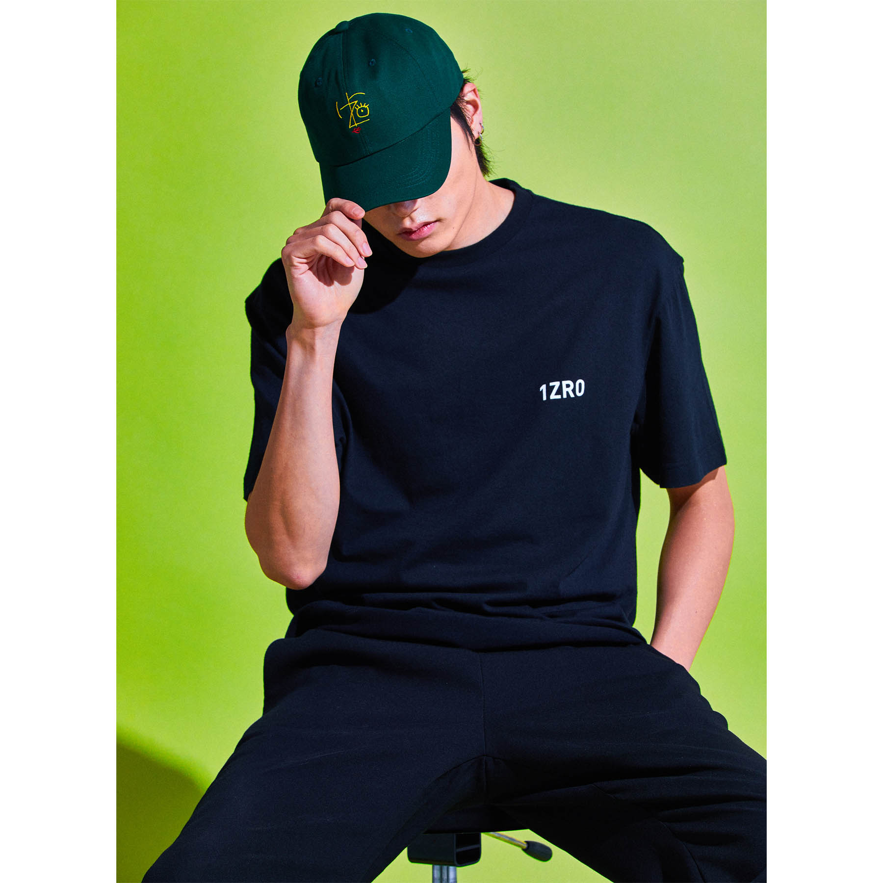 IZRO FW T-SHIRTS - BLACK
