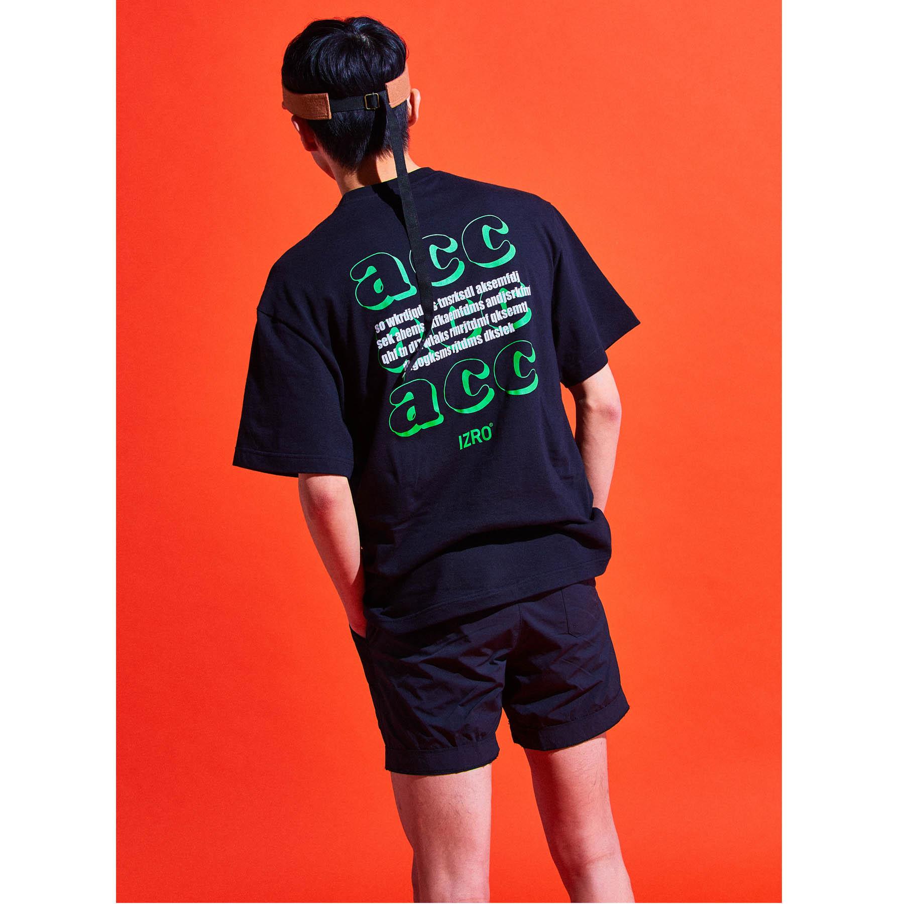 IZRO ACC T-SHIRTS - BLACK