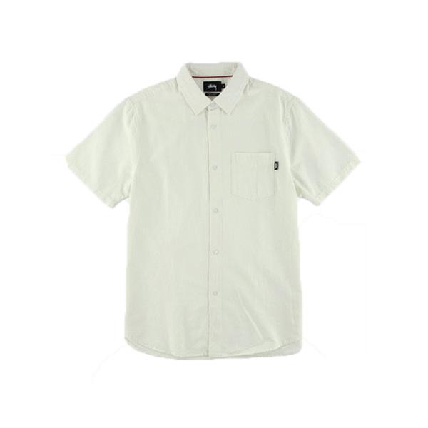 [해외]스투시 클래식 반팔 린넨셔츠 WHITE 111872