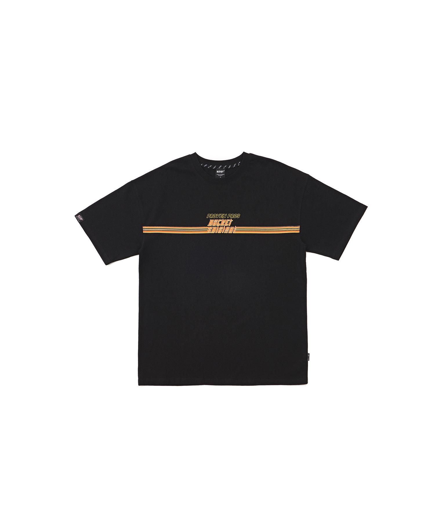 버켓 라인 반팔 티셔츠