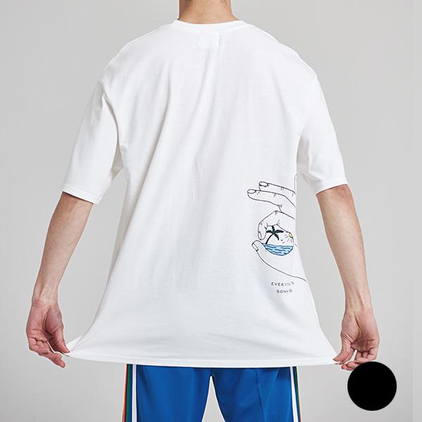 [올앤드]남성 파라다이스 반팔 티셔츠_LMTRH2134