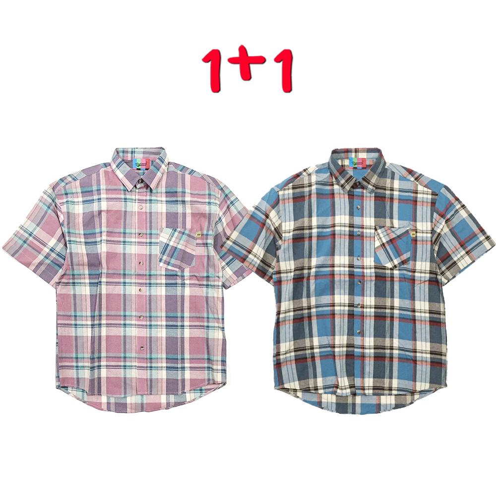 Dawn Madras Check Shirt(2color)(unisex)